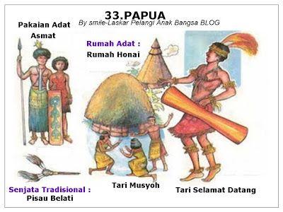 Pakaian Adat Daerah Asmat Pakaian Nusantara