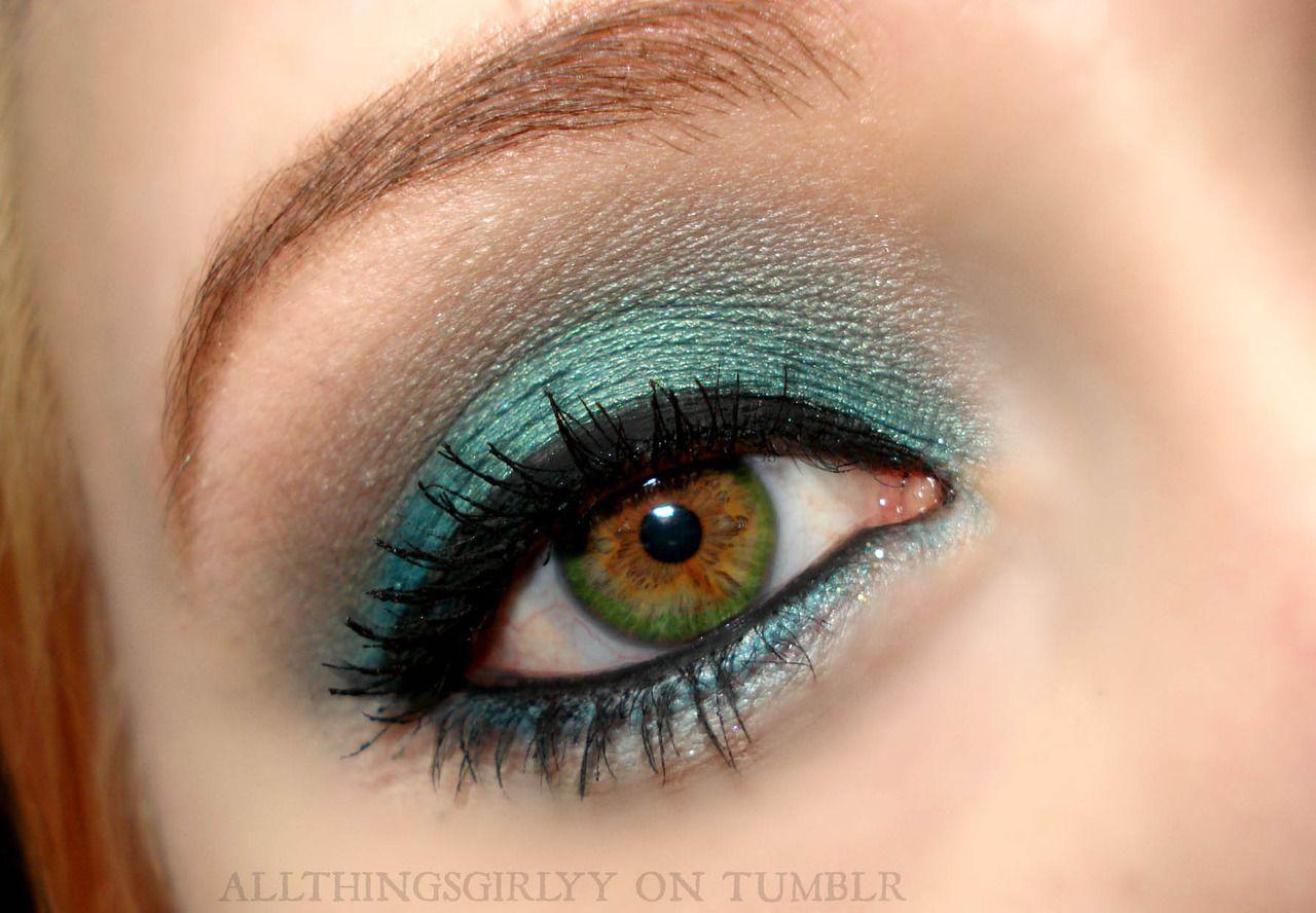 Green eyeshadow Eye makeup, Hazel eye makeup, Makeup masters