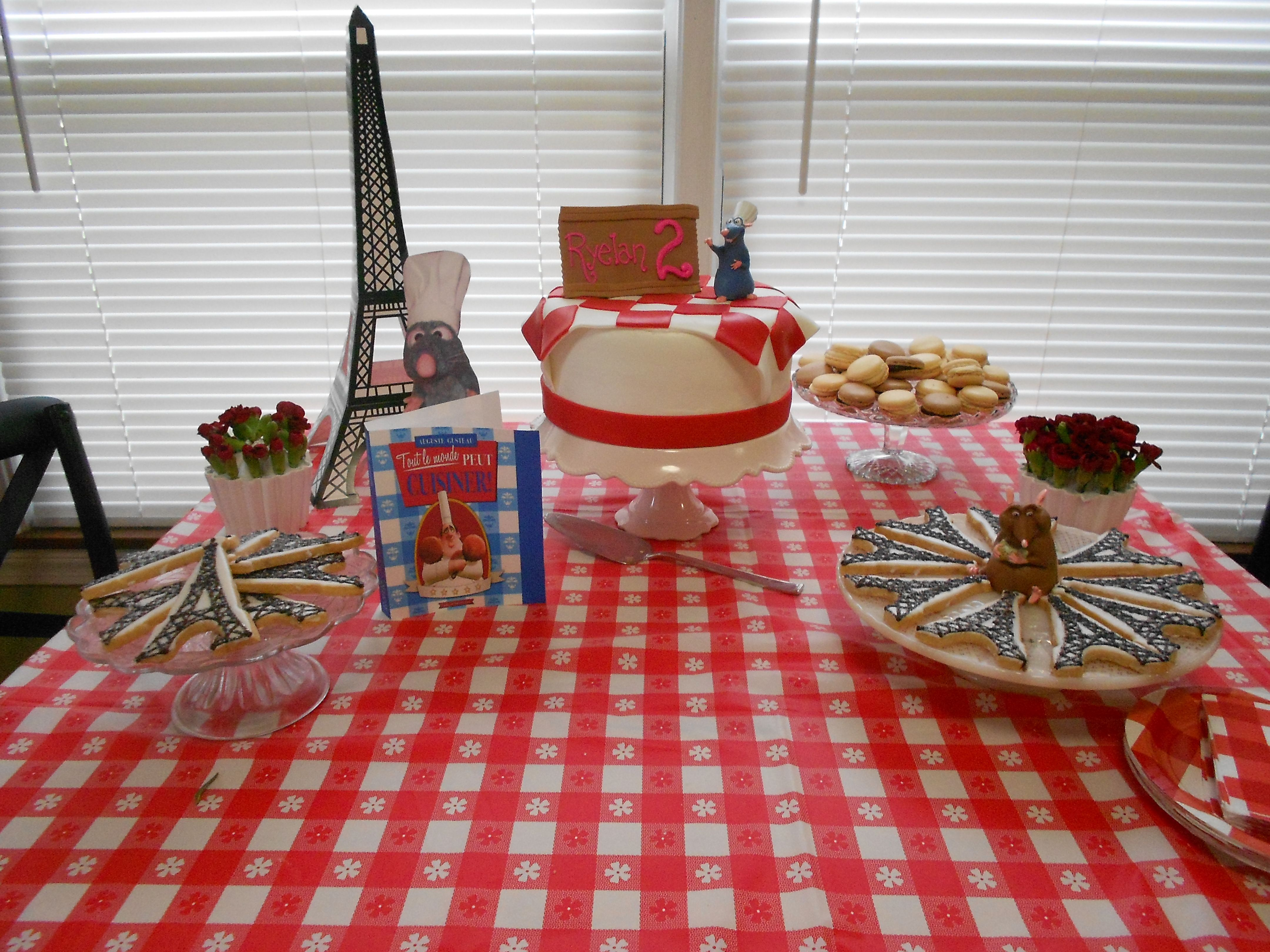 Ratatouille party for my 2yr old | Party Party! | Pinterest ...