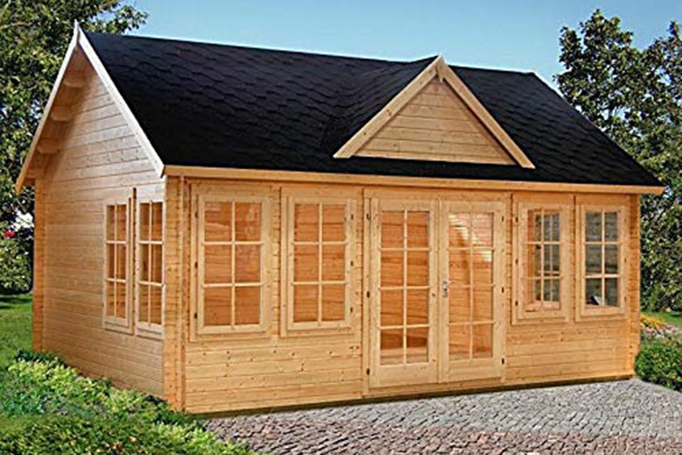 Yes You Can Buy A Tiny House On Amazon For 3 000 Here Are 12 Easy Diy Kits To Shop Now Prefab Cabin Kits Prefab Cabins Pool Houses