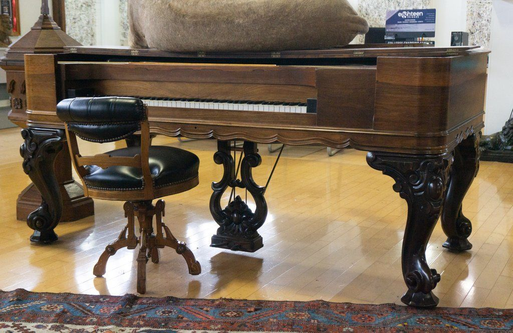 Antique mathushek rosewood 1870s square orchestral grand