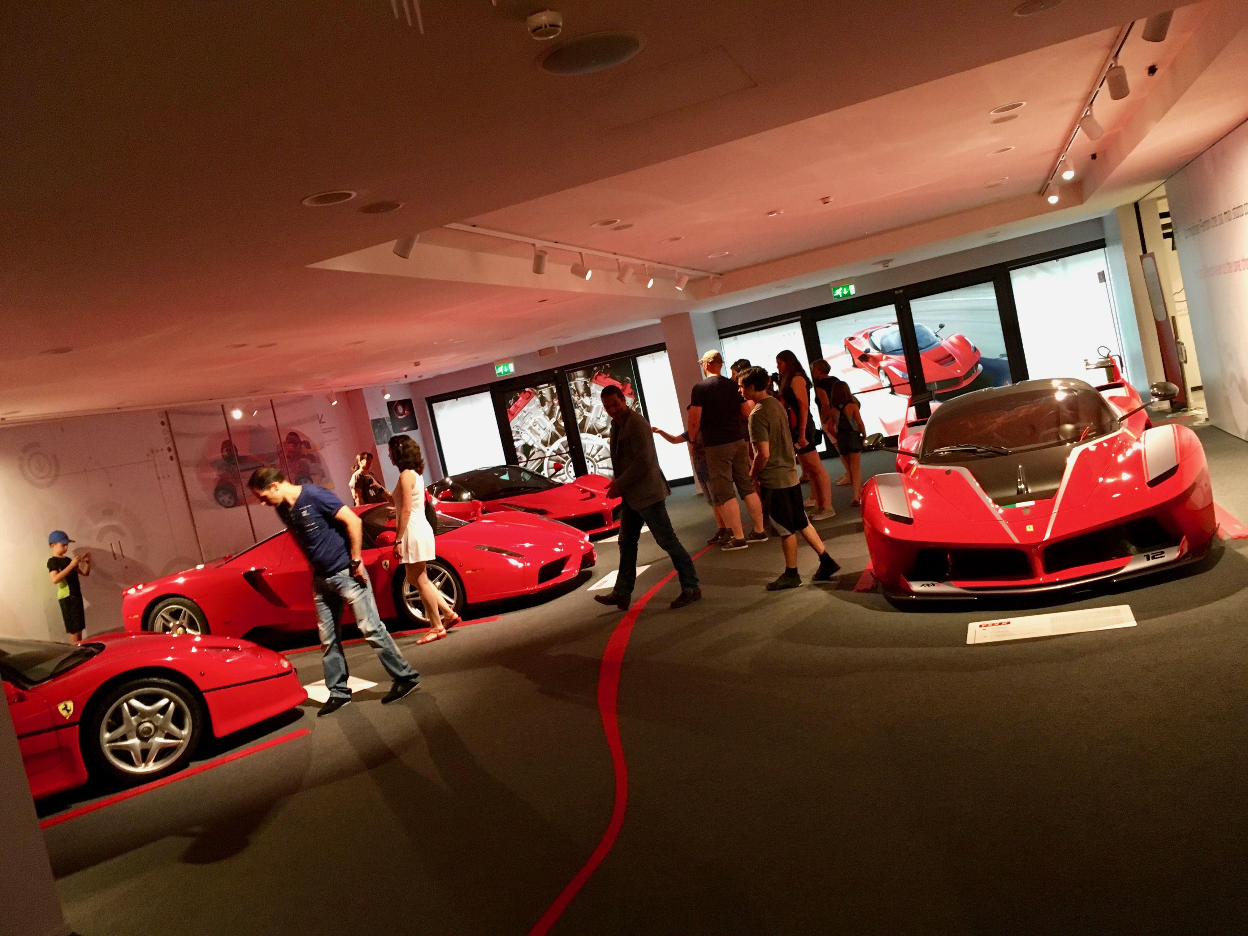 Inside the Ferrari Maranello Museum #BookAclassic #Ferrari #heaven #cardesign #Maranello #FerrariMuseum #F1