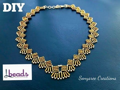 Photo of Christmas Gift idea || Bugle bead Necklace || lbeads.com
