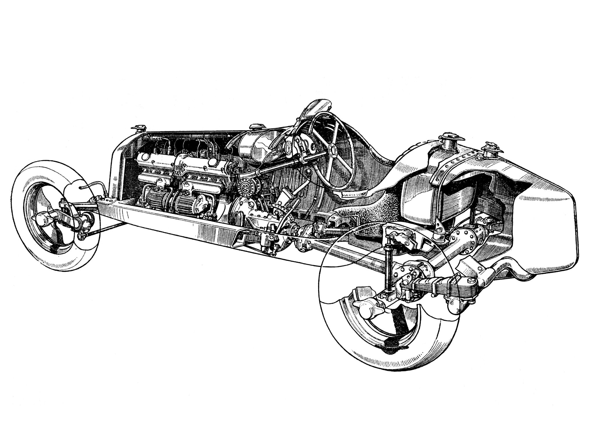 Engine Cutaway Wallpaper