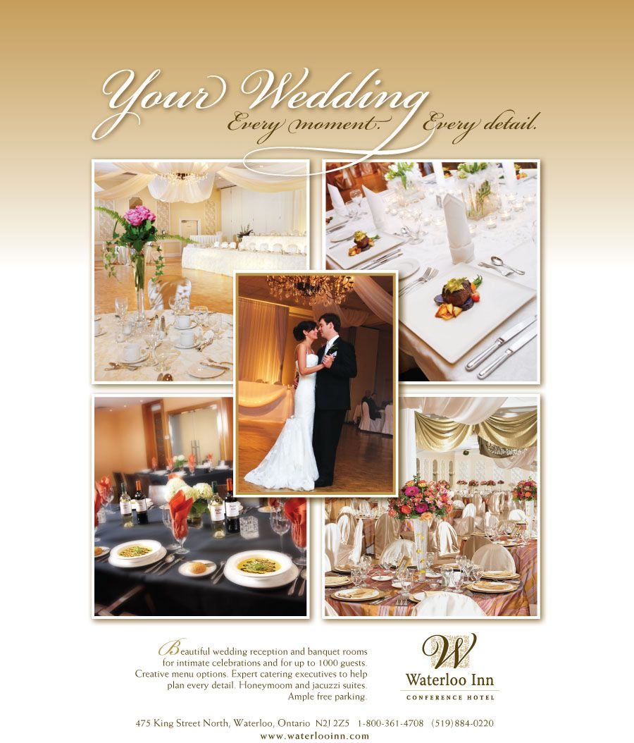 Magazine Ad Template Wedding Venue Google Search