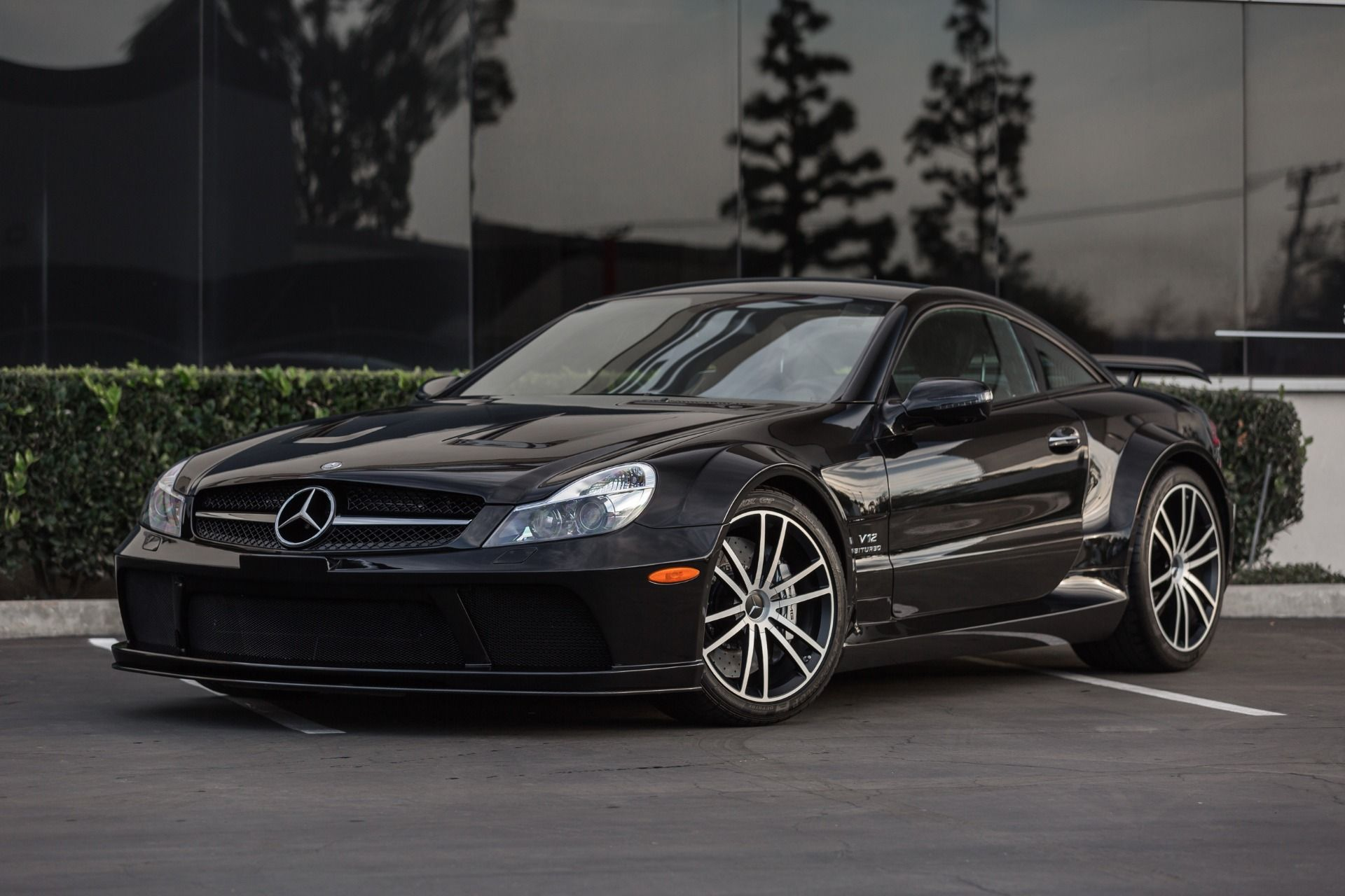 Used 2009 mercedes benz sl class sl65 amg black series costa mesa