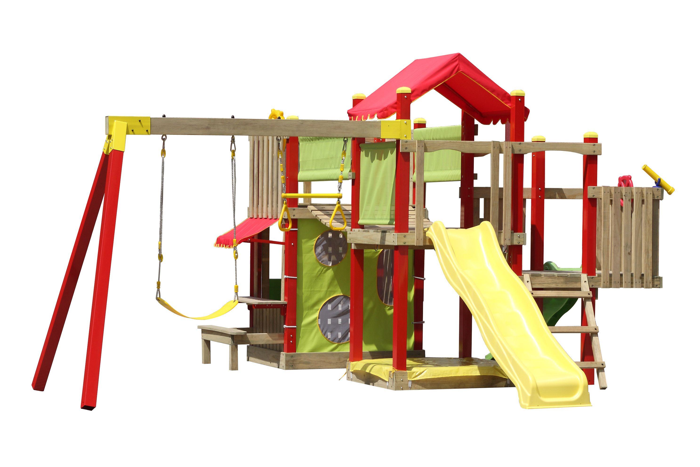 Swing Slide Climb Empire Multi Play Playground Bunnings Warehouse