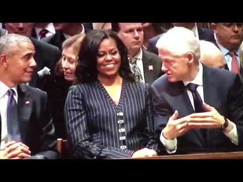 Donald Trump The Divine Envelope Full Story George Bush Sr Funeral