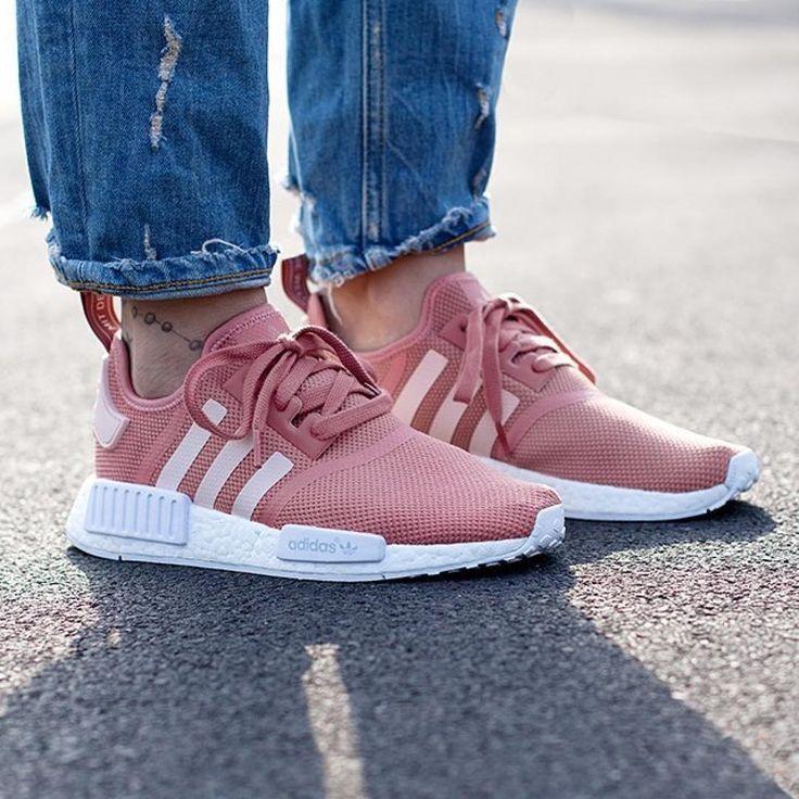 Adidas NMD R1 Raw Pink Weiß Schuhes UK Online Am billigsten Verkauf | Кроссовки