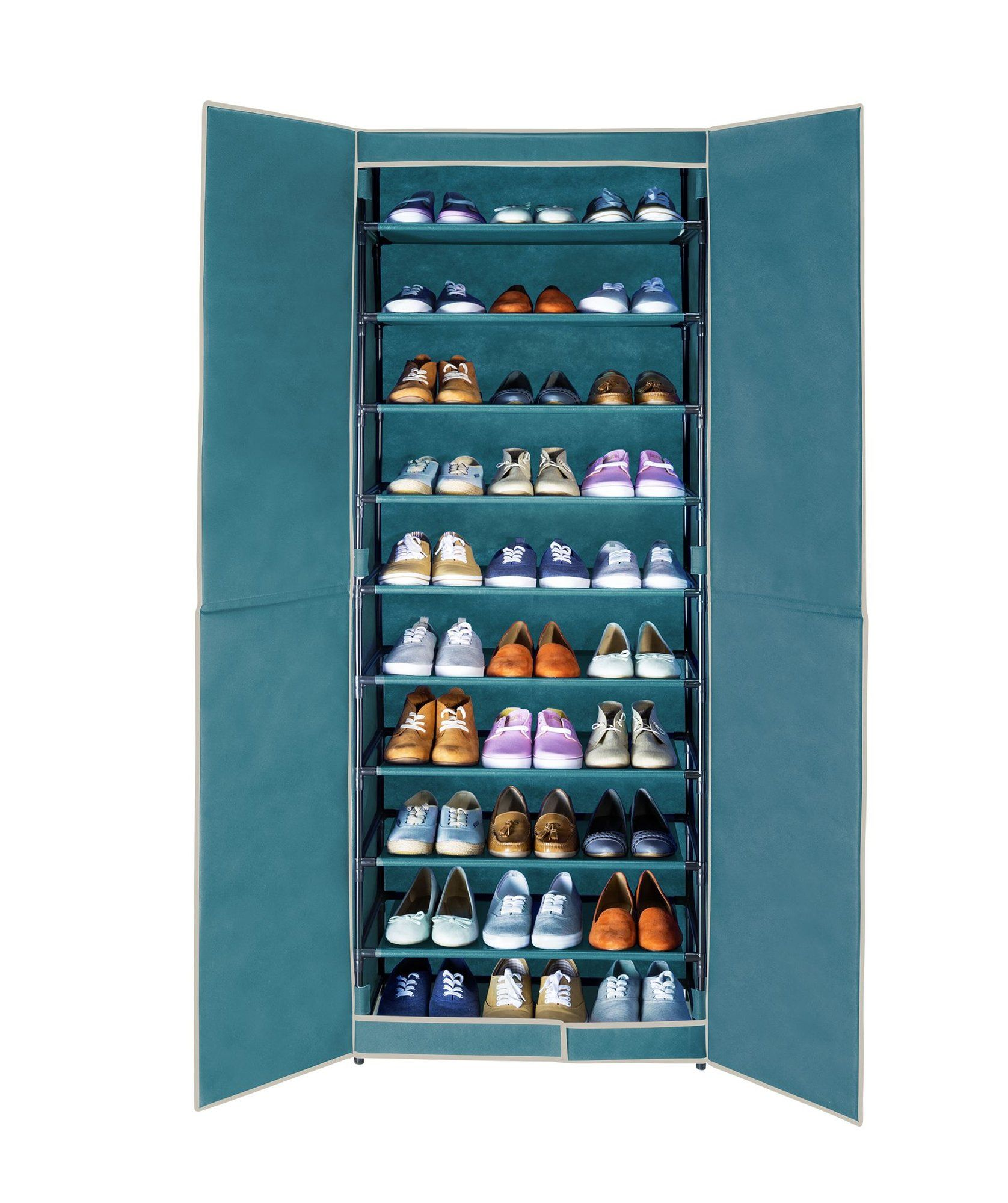 Rebrilliant Breeze 30 Pair Shoe Storage Cabinet Wayfair Co Uk Shoe Storage Accessories Shoe Storage Cabinet Shoe Storage