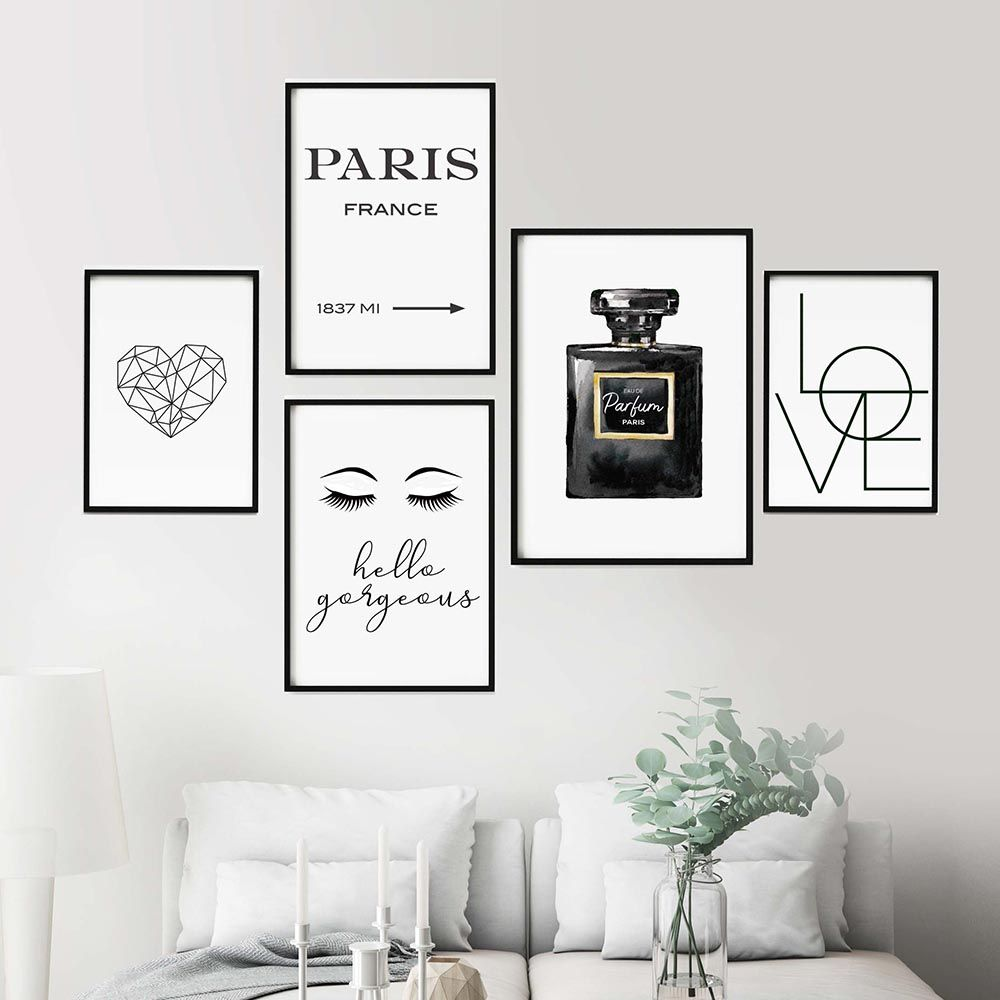 19+ Cuadros blanco y negro dormitorio inspirations
