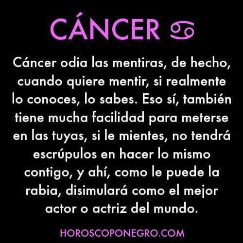 Pin En Horoscopo Negro Cancer