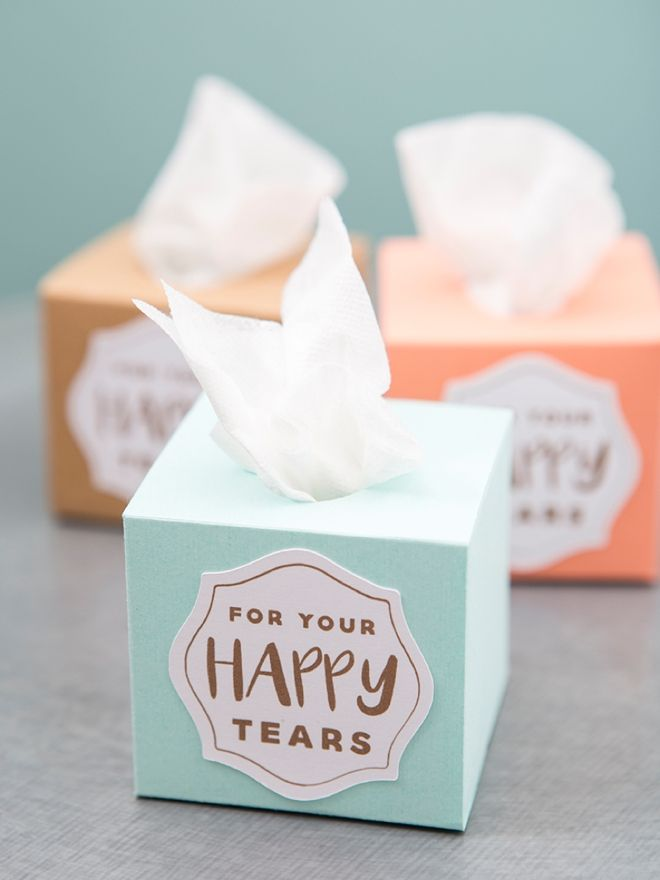 Make These Mini Wedding Tissue Boxes Using Your Cricut Explore In Less Than  Minutes