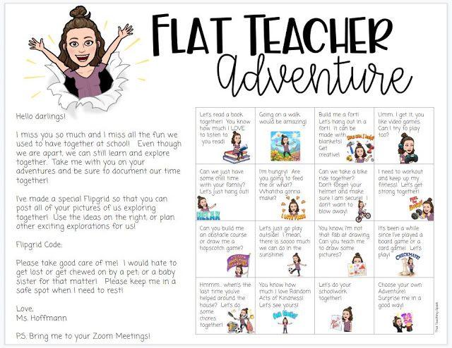 Flat Teacher Adventure Project