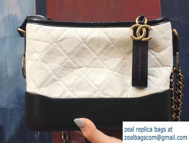 991464339d2b Chanel Gabrielle Small Hobo Bag A91810 Beige/Black 2017 | Luxury ...