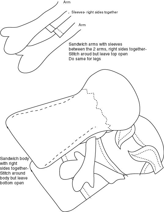 Rag Doll Soccer Player Complete With Pattern And Tutorial