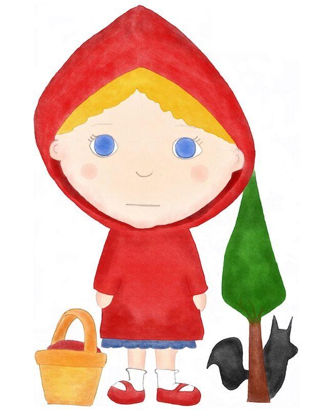Decorar la Habitación Infantil con ilustraciones de personajes de cuentos clásicos… OLIPA KERRAN