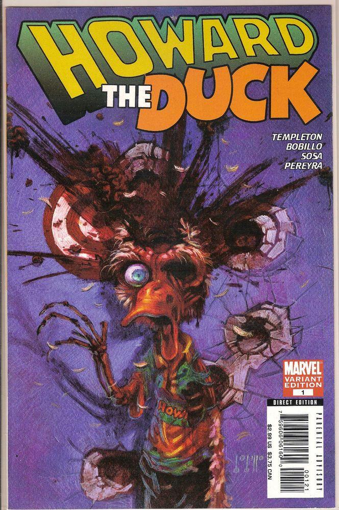 Howard the Duck Templeton Bobillo Sosa Pereyra Marvel 1 Comic Book