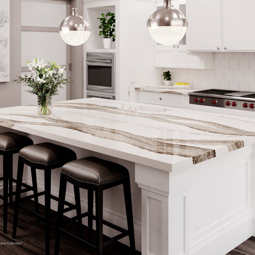 Kitchen Countertops Quartz Colors: Details, Photos, Samples