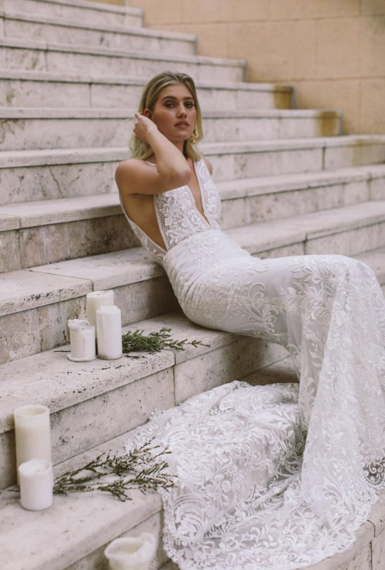 Made With Love In 2020 Fitted Lace Wedding Dress Seattle Wedding Dress Israeli Wedding Dress Designer