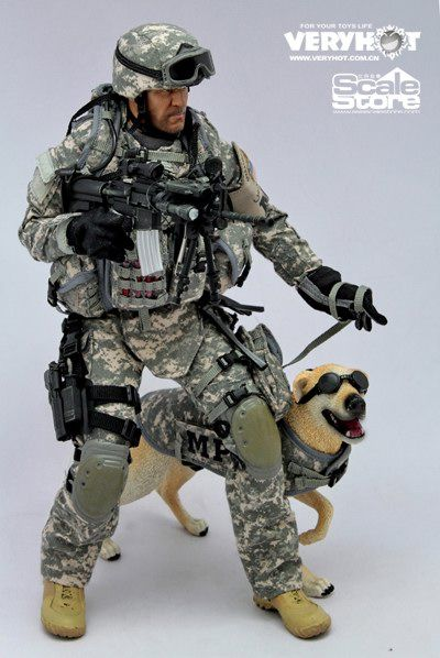army MP military figurines   toyhaven: VeryHot 1:6 US Army MP ...