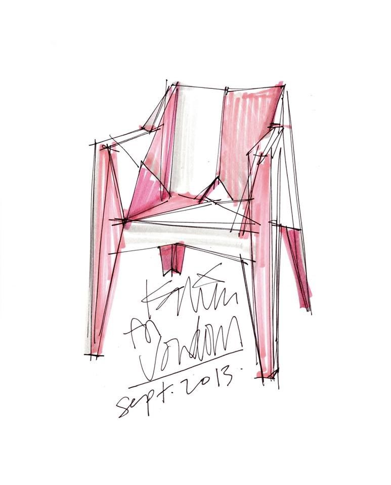 Mondo Sketches Vox Chair Karim Rashid Dining Chair Makeover Chair Makeover Restoration Hardware Dining Chairs