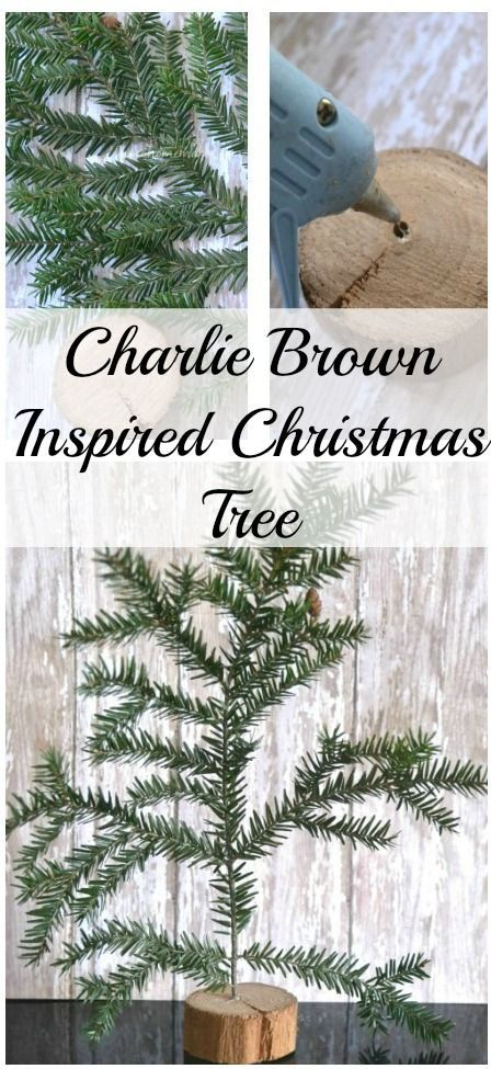 DIY Charlie Brown Christmas Tree | christmas | Pinterest | Navidad