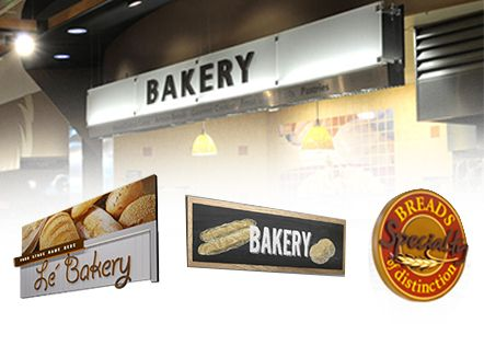 bakery design ideas and signs | grocery store signs | pinterest
