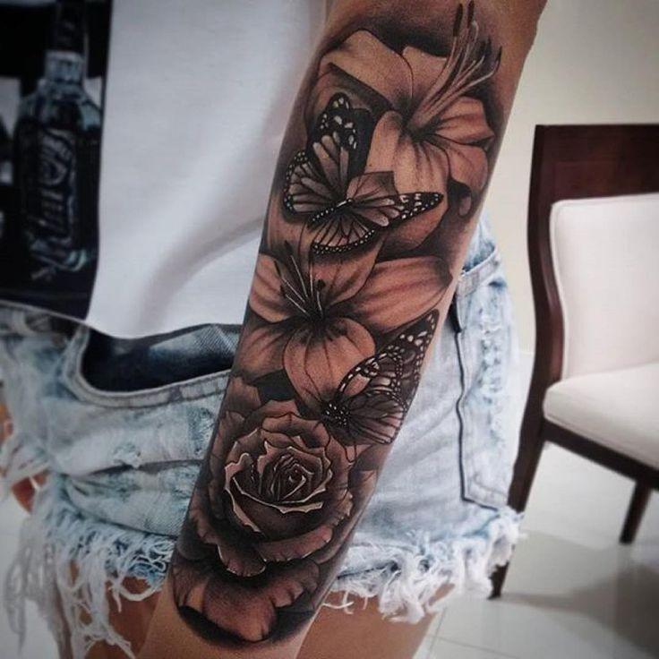 Photo of #gemacht #kunstwerk #mit #sleeve tattoos #Tattoo #von