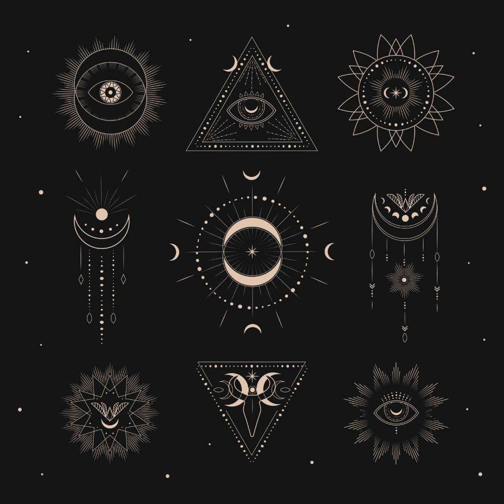 Free Sacred Geometry Logo Templates Ai Sacred Geometric Geometric Drawing Research Logo
