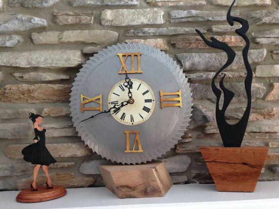 Reloj de vapor Punk sierra a mano molino por WickedInnocenceArt
