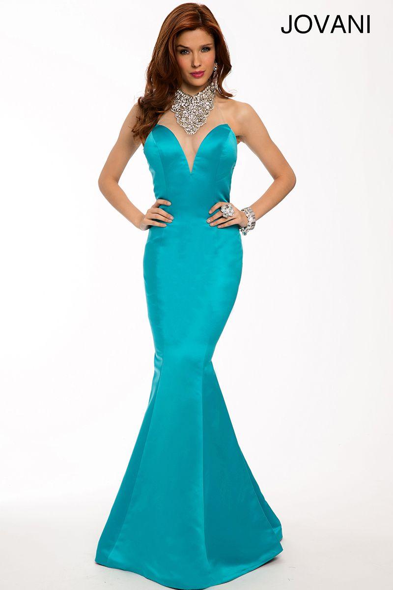 Satin mermaid gown 22735 | :strut: | Pinterest | Mermaid gown ...