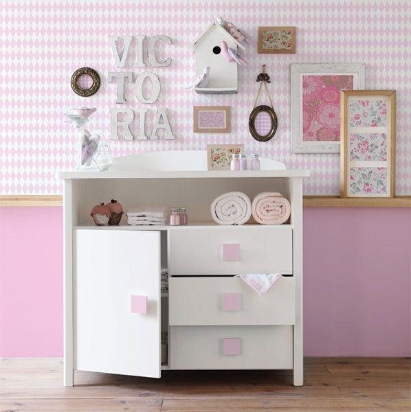Muebles para habitaciones infantiles. Con cajonera. | Textil y ...