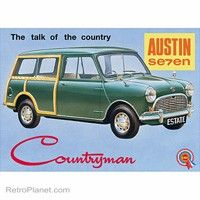 1970 austin mini countryman.