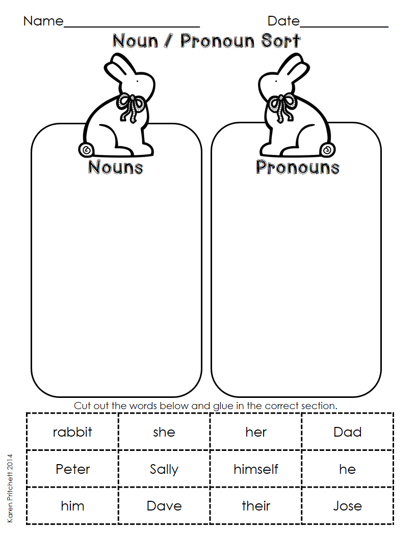 Workbooks making words plural worksheets : Easter / Spring Language Arts cut and paste morning work ...