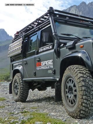 Engage4x4 Defender 110 Expedition Defender 110