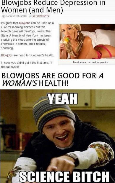 Blowjobs good for women