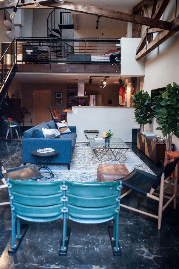 an eclectic loft in the heart of oakland interior design rh pinterest com Female Interior Designers interior designer oakland ca