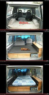 Photo of Nissan GQ Patrol Sleeper Camper construct – by MrFalloffalot – youtu.be/USn9yL…..