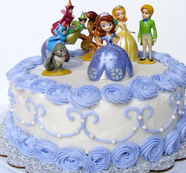 Sophia The First Birthday Cake Kue Tart Kue