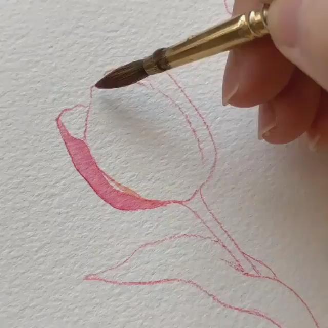 Easy Watercolor - #watercolorart