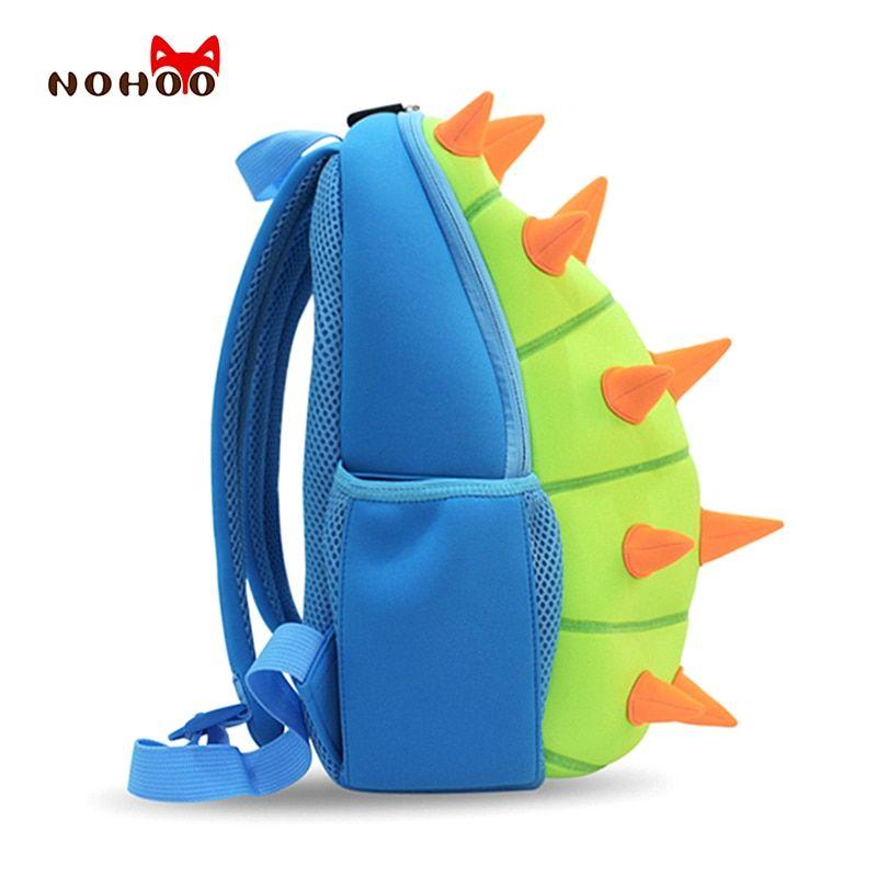 Cute 3D Cartoon Dinosaur Kids School Bag Kindergarten Boys Girls Backpack Gift