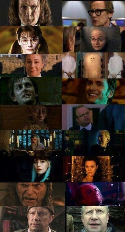 Доктор кто и гарри поттер актеры какие есть персонажи в шаман кинг