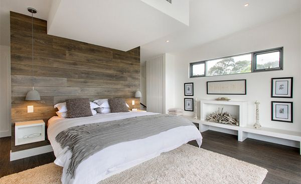 20 Stunning Bedrooms with Wooden Wall Panels (With Pictures)