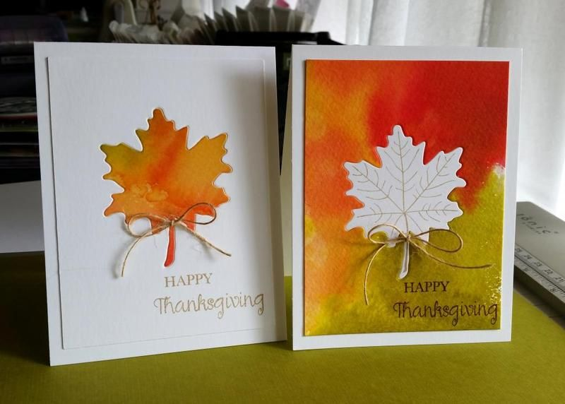 Happy Thanksgiving by klh54 - Cards and Paper Crafts at Splitcoaststampers