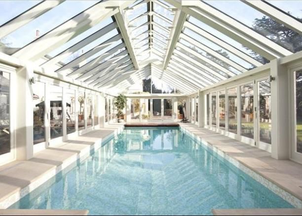 Check Out This Property For Sale On Rightmove Conservatory House Lap Pool Indoor Pool Design