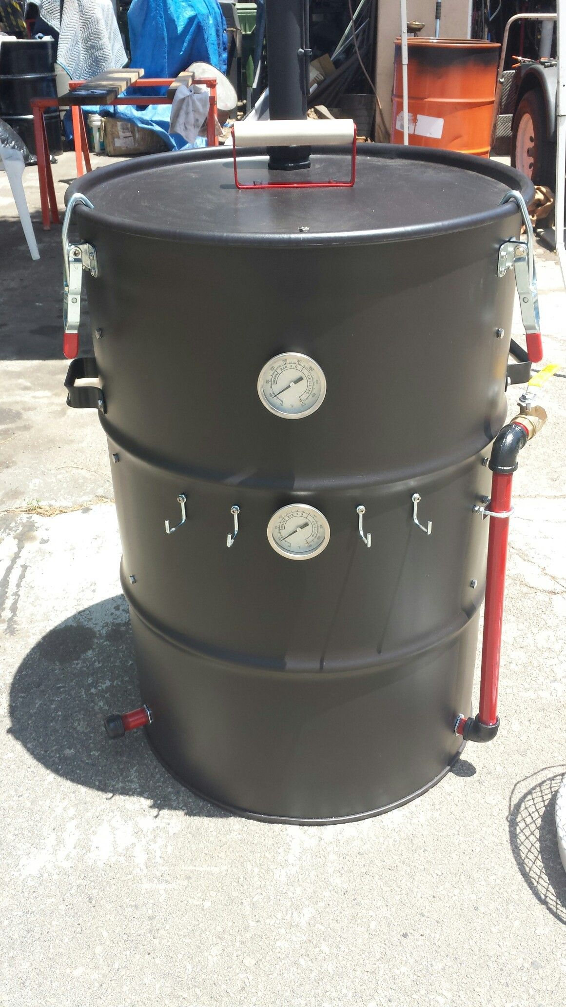 uds ugly drum smoker for sale ugly drum smokers. Black Bedroom Furniture Sets. Home Design Ideas