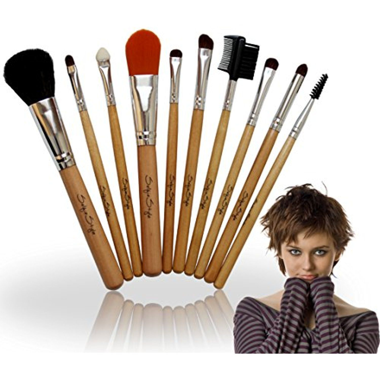 SALE Price and FREE Foundation Brush with Makeup Brushes