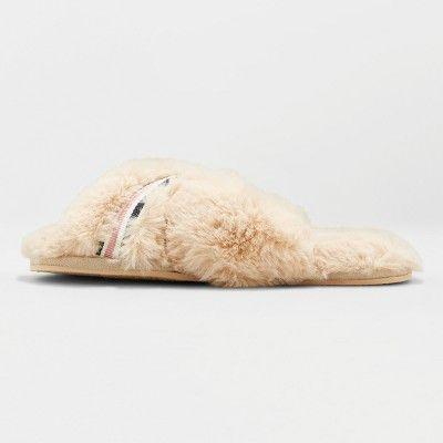 4a4a27cf058e3 Women's Niah Faux Fur Slippers Cream XL, Beige | Products ...