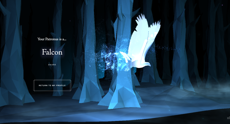 Pine Marten Pottermore Patronus HP Life at Hogwarts